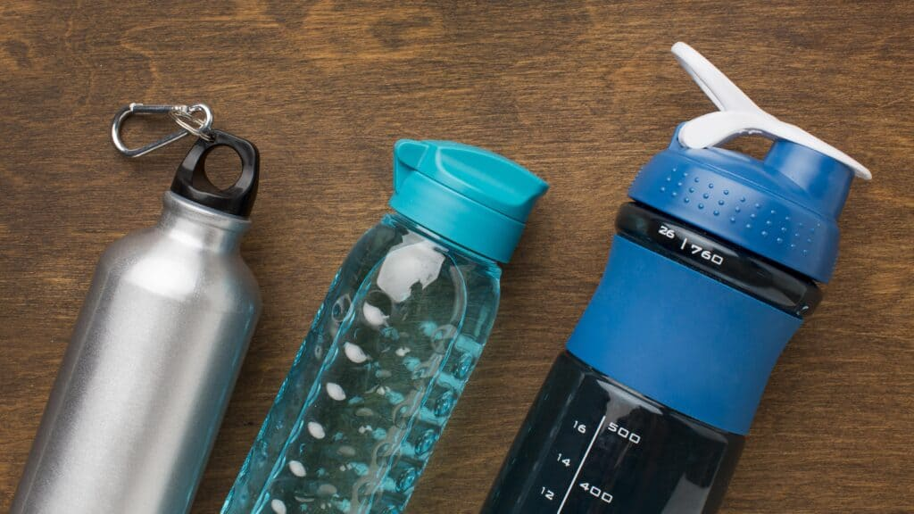 thermos fitness bottles water