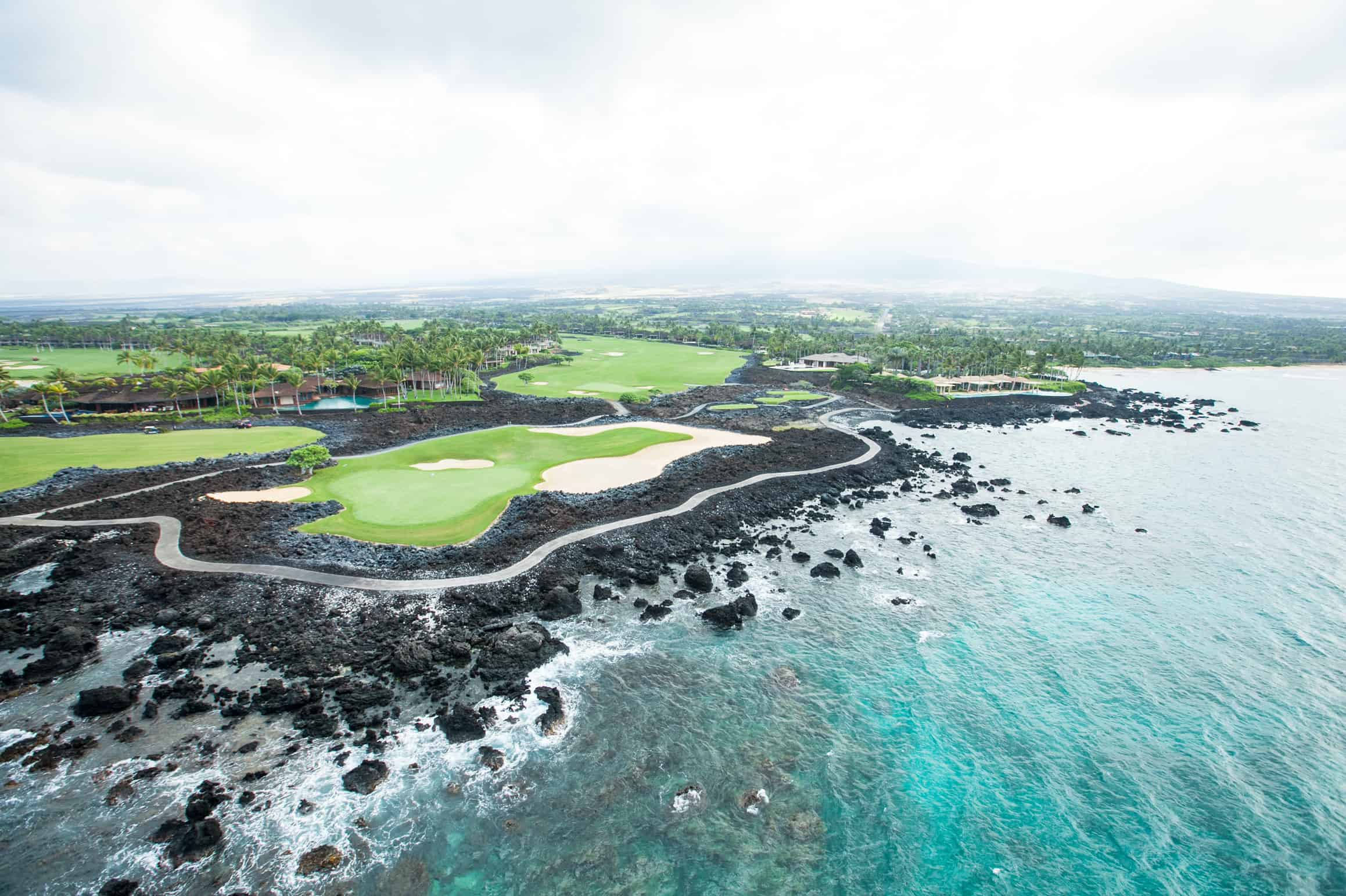 one of hawaii's golf courses