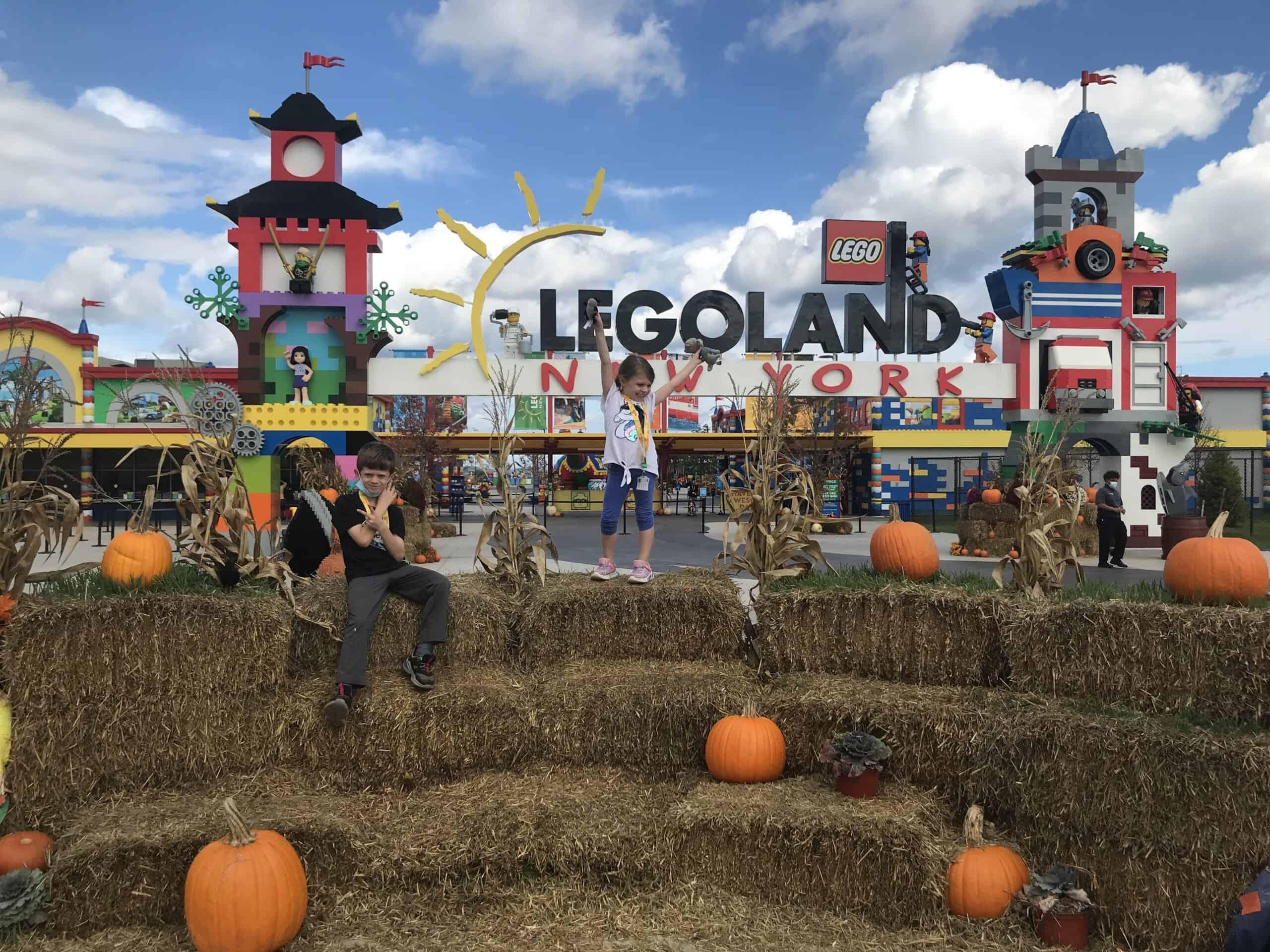fall in hay at legoland